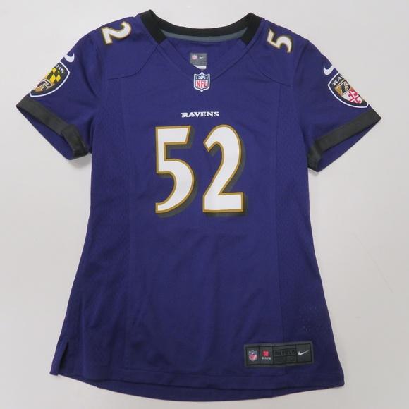 808134f6 Nike Baltimore Ravens Ray Lewis #52 Jersey Womens